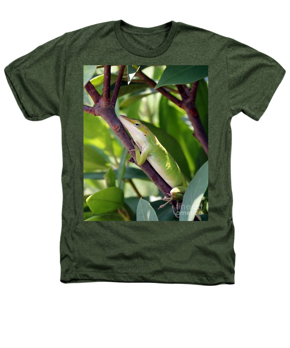 Photography Heathers T-Shirt featuring the photograph Hanging On by Shelley Jones
