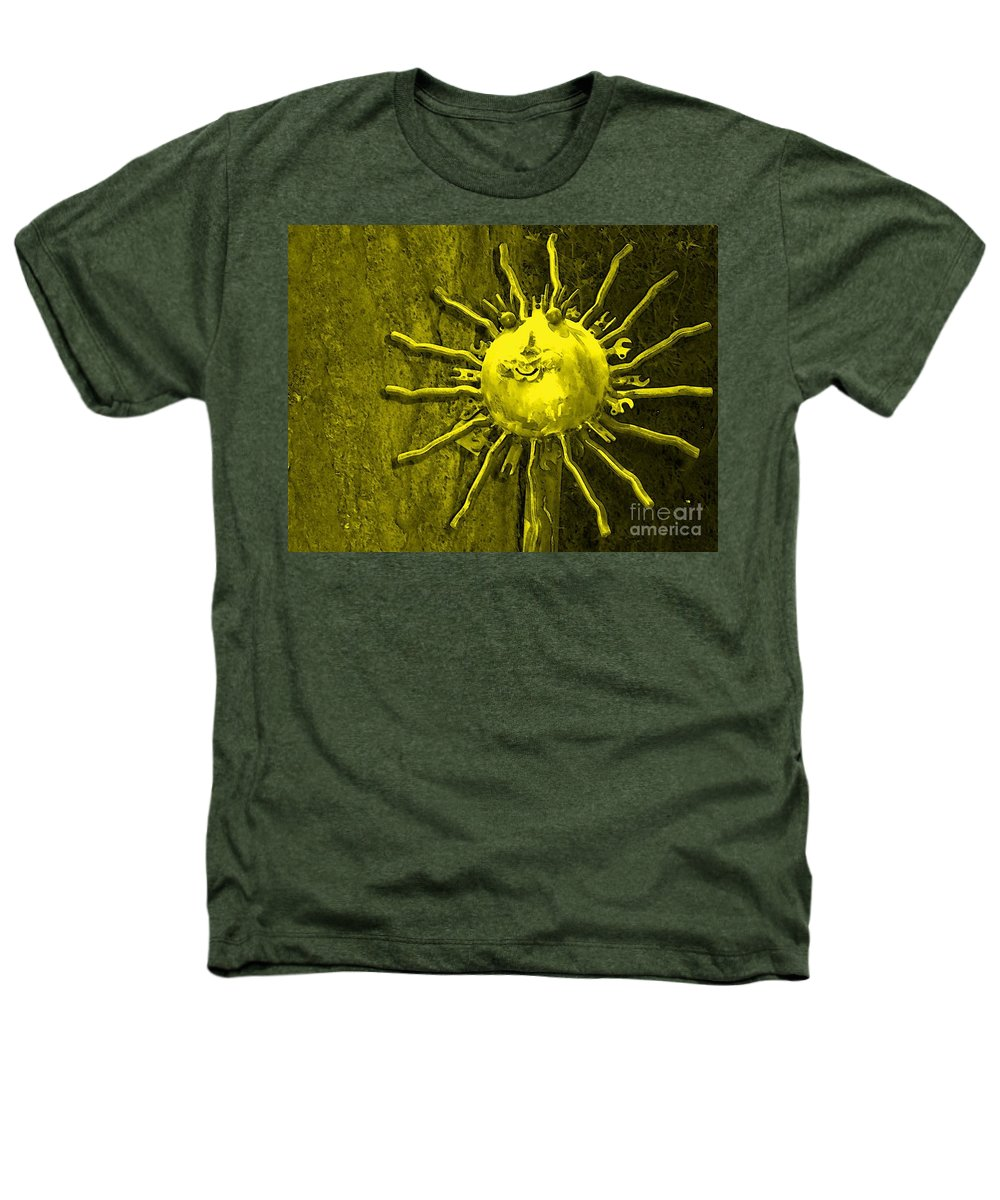 Sun Heathers T-Shirt featuring the photograph Sun Tool by Debbi Granruth