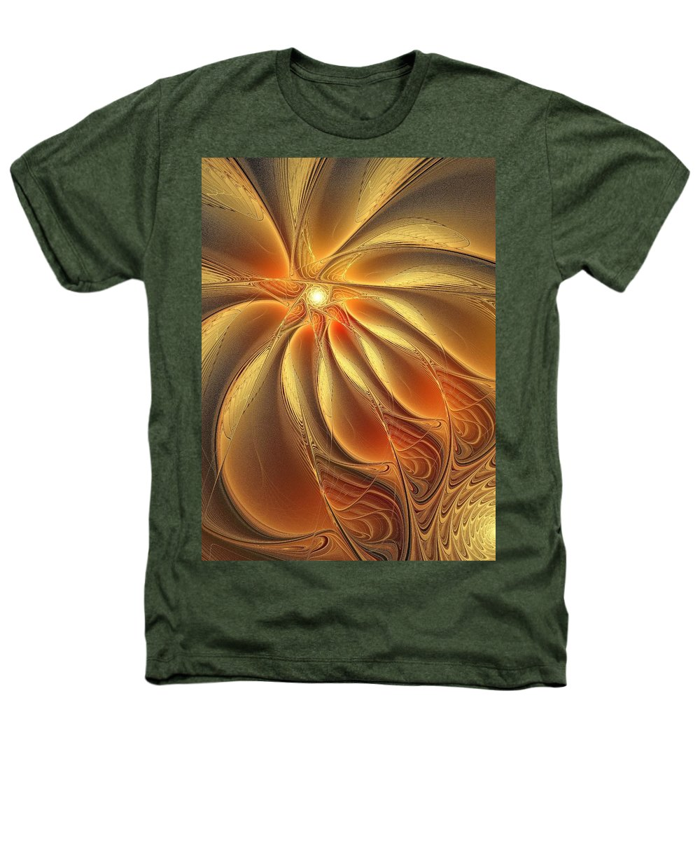 Digital Art Heathers T-Shirt featuring the digital art Warm Feelings by Amanda Moore
