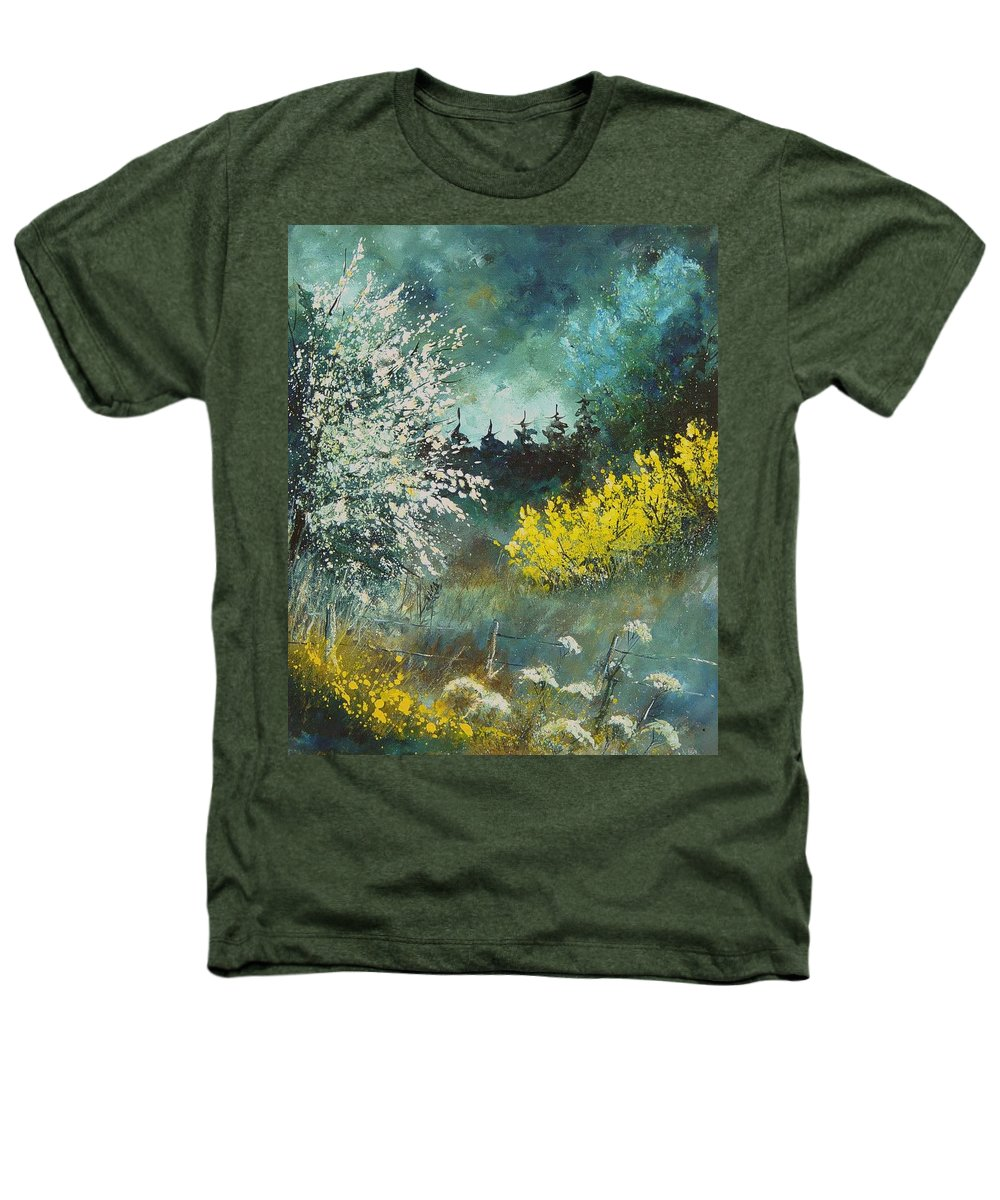 Spring Heathers T-Shirt featuring the painting Spring by Pol Ledent