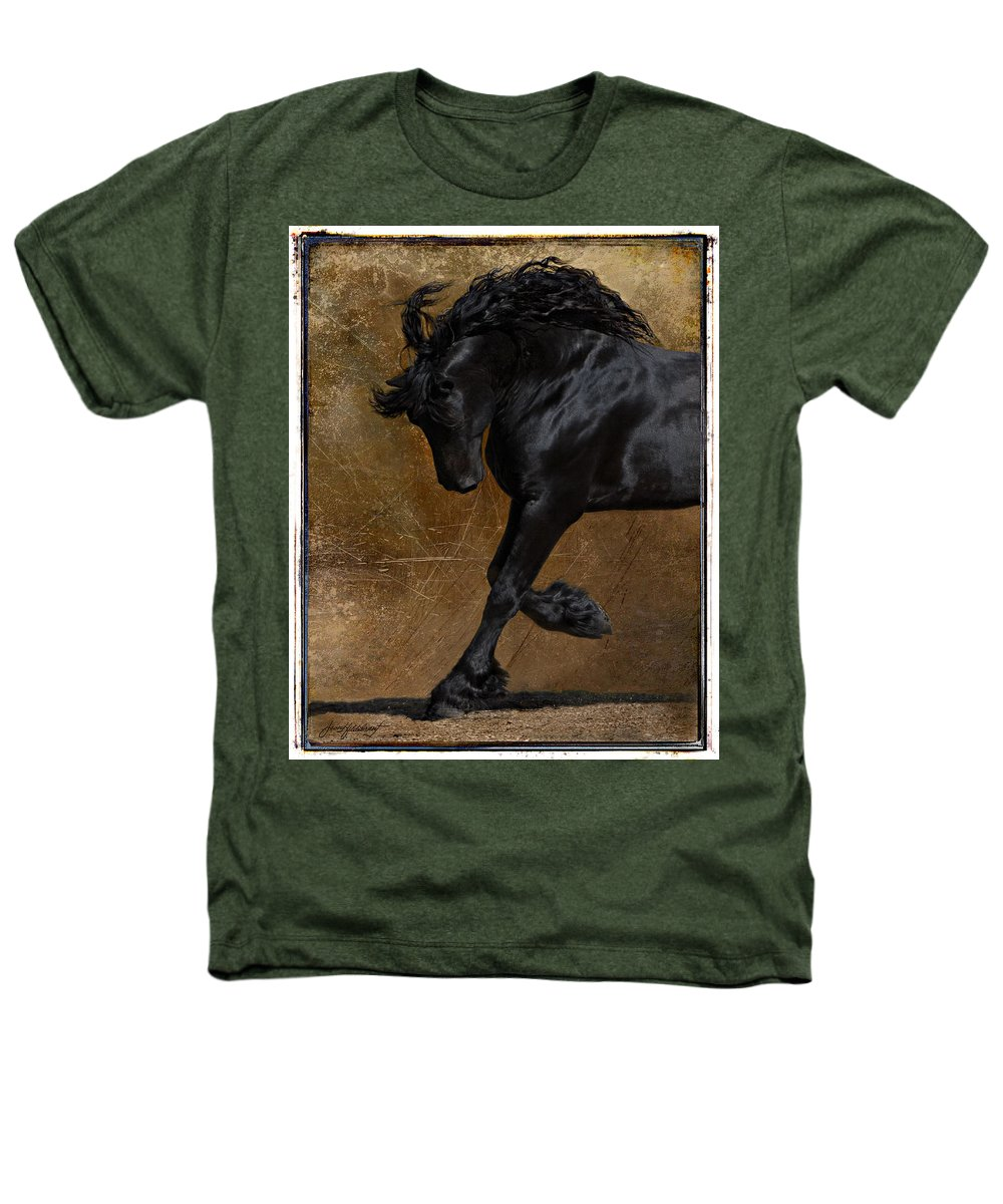 Horse Heathers T-Shirt featuring the photograph A Regal Bow by Jean Hildebrant