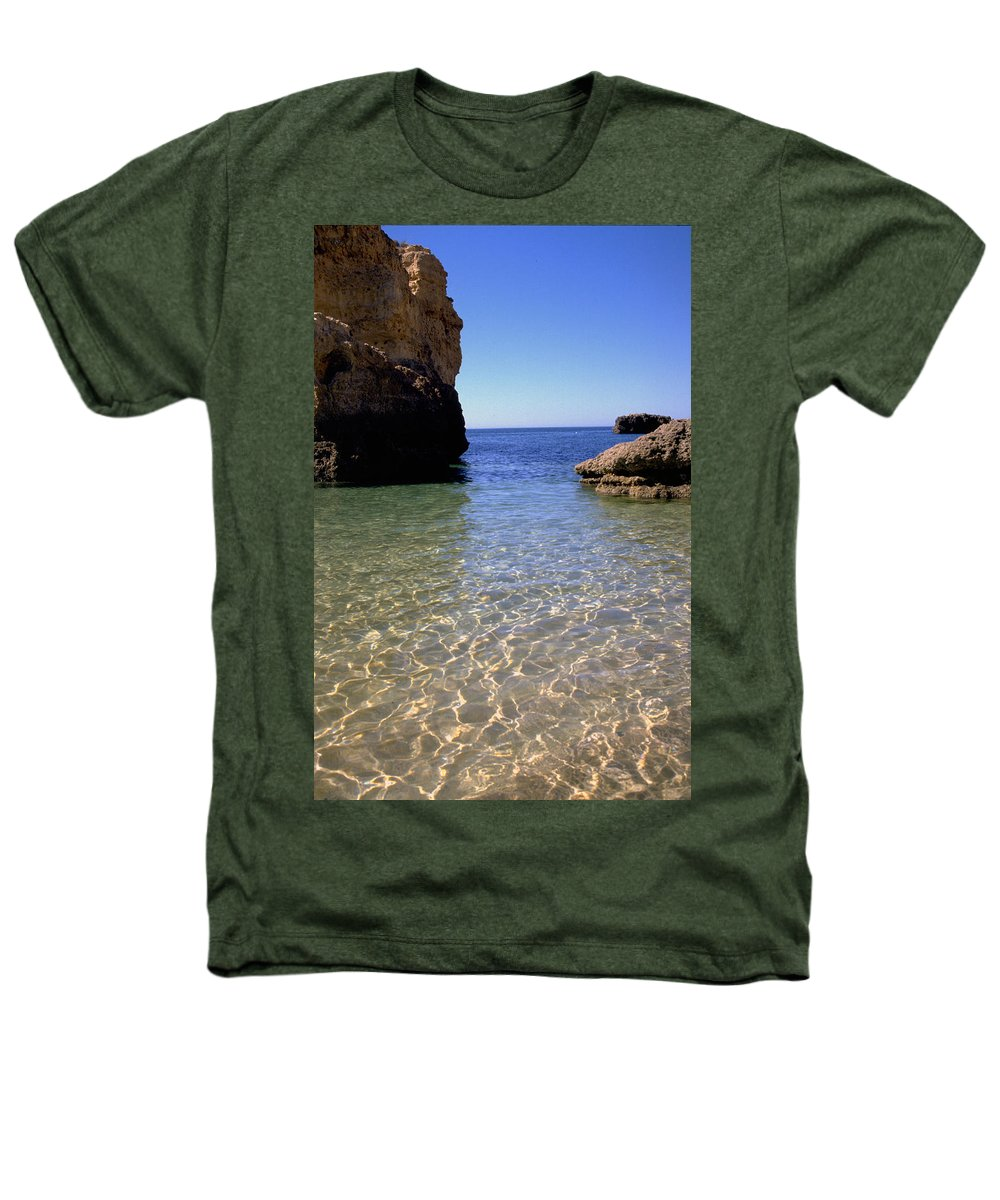Algarve Heathers T-Shirt featuring the photograph Algarve I by Flavia Westerwelle