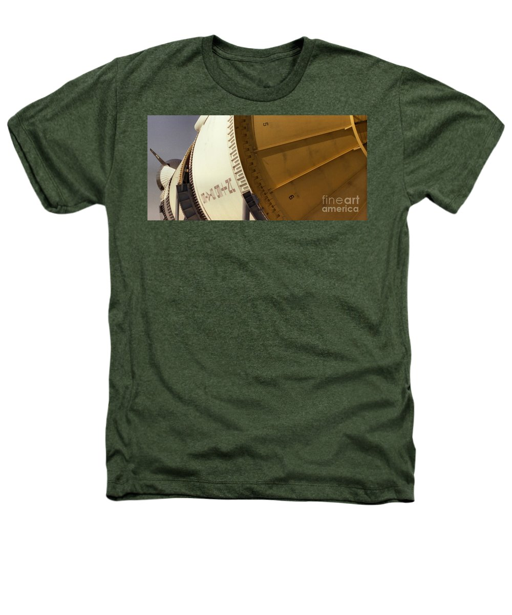 Technology Heathers T-Shirt featuring the photograph Apollo Rocket by Richard Rizzo