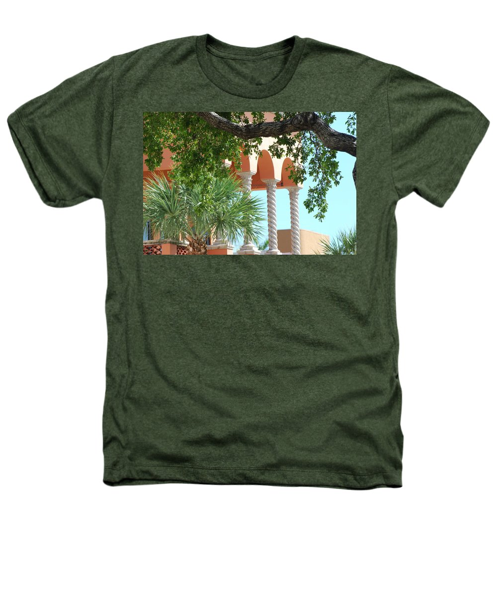 Architecture Heathers T-Shirt featuring the photograph Arches Thru The Trees by Rob Hans