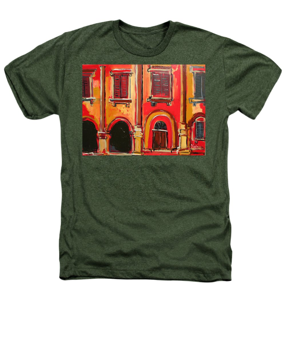 Tuscany Heathers T-Shirt featuring the painting Arco Di Firenze by Kurt Hausmann
