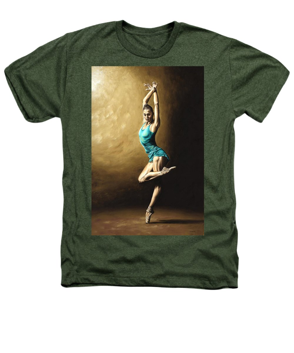 Dance Heathers T-Shirt featuring the painting Ardent Dancer by Richard Young