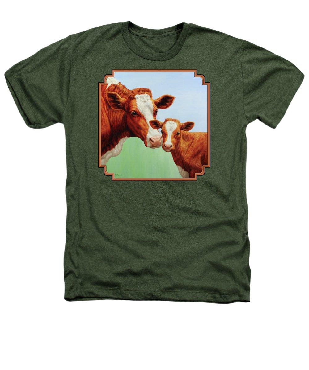 Cow Heathers T-Shirts