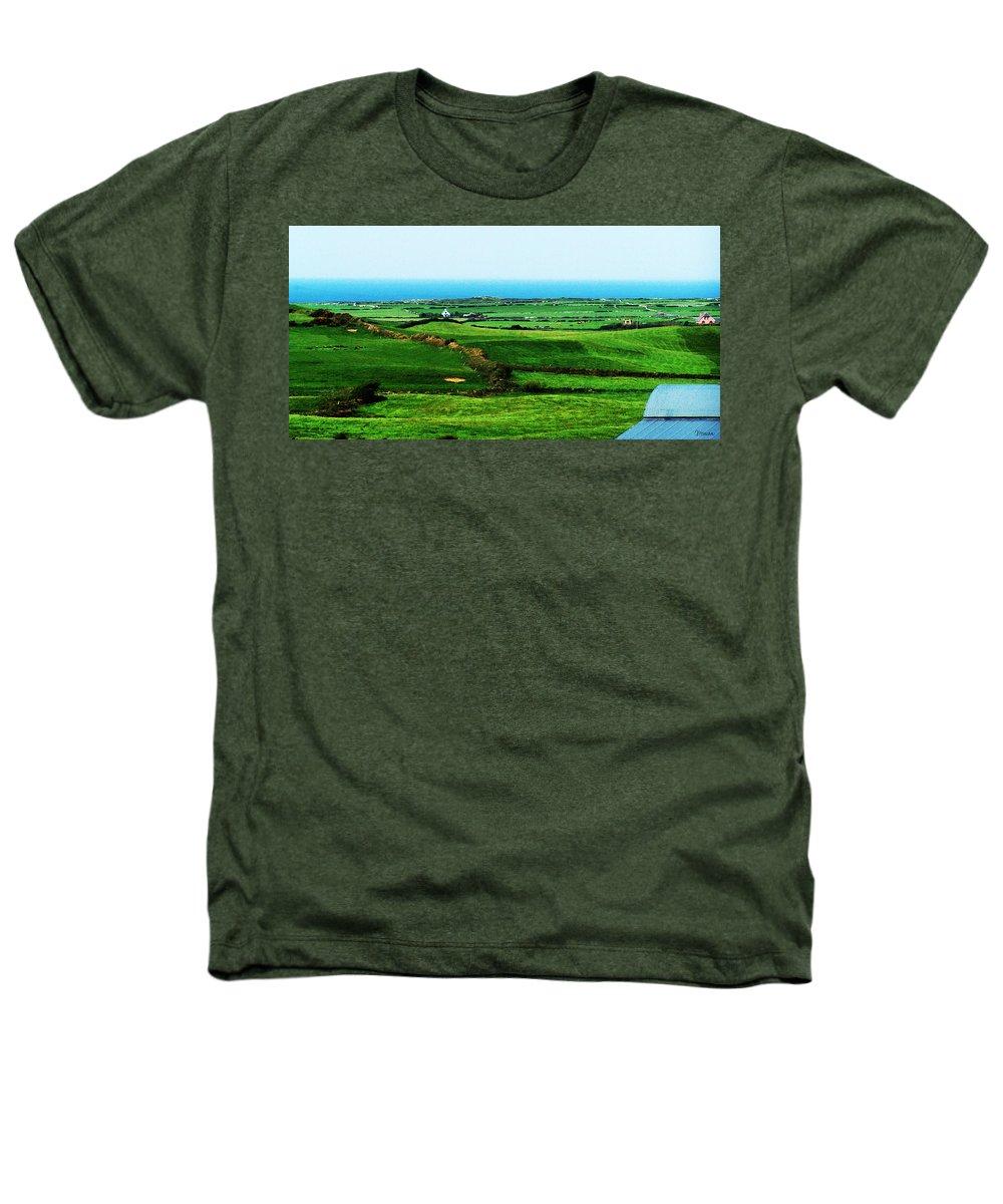 Ireland Heathers T-Shirt featuring the photograph Atlantic View Doolin Ireland by Teresa Mucha