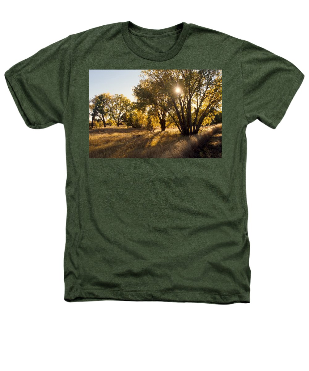 Fall Heathers T-Shirt featuring the photograph Autum Sunburst by Jerry McElroy