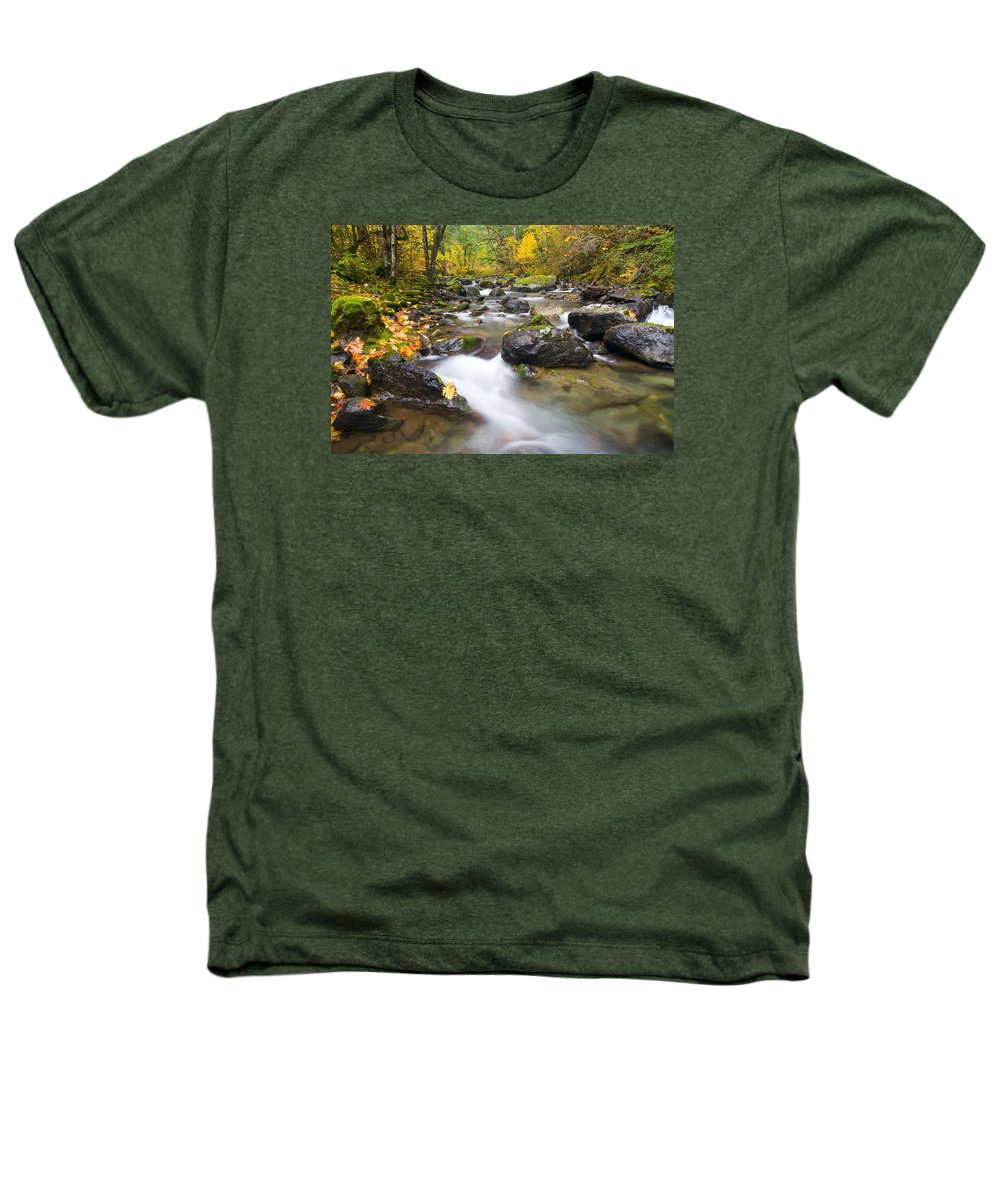 Fall Heathers T-Shirt featuring the photograph Autumn Passing by Mike Dawson