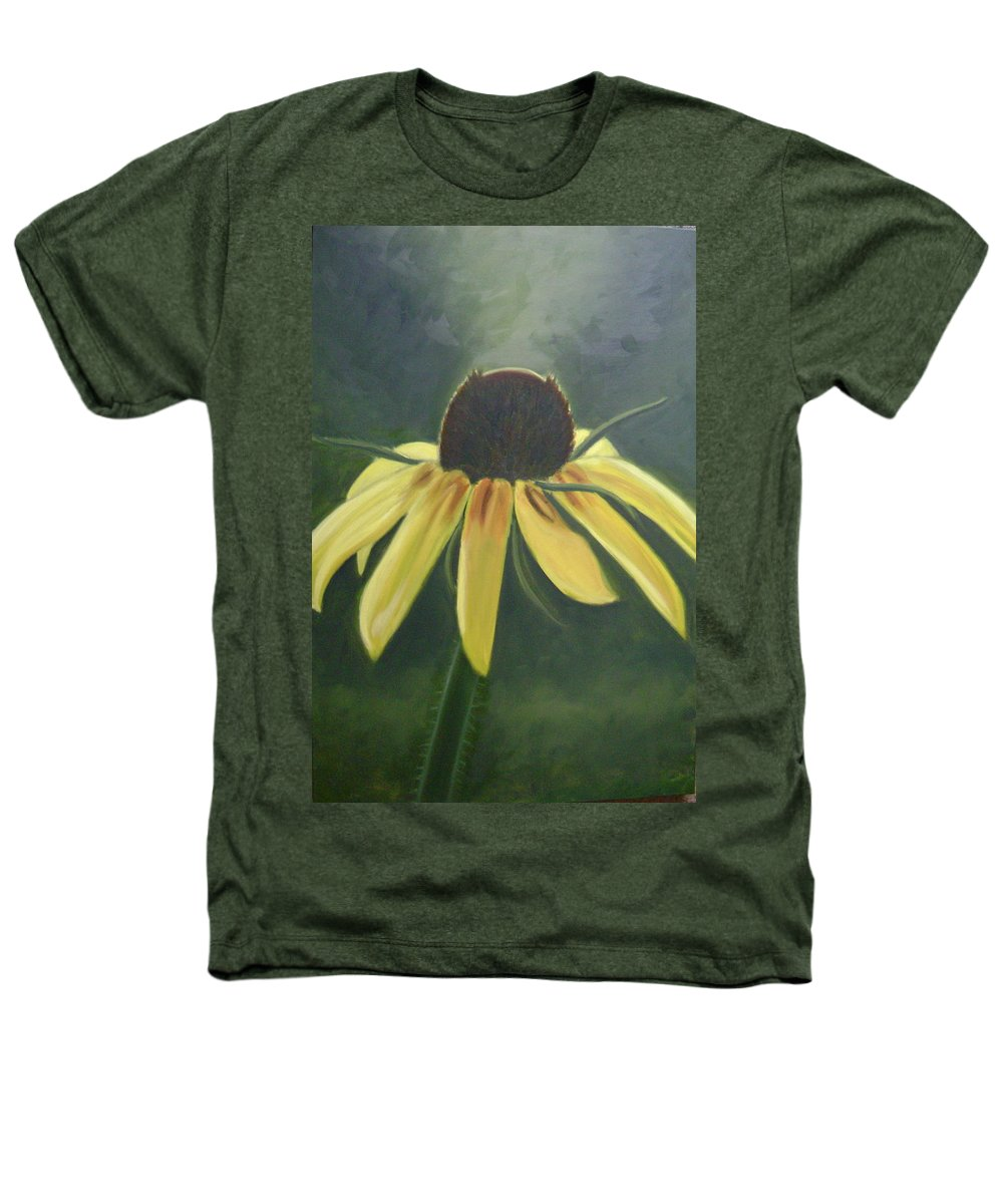 Flower Heathers T-Shirt featuring the painting Black Eyed Susan by Toni Berry