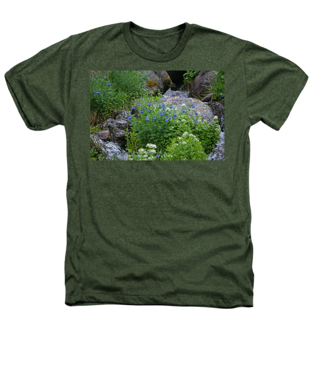 Wildflowers Heathers T-Shirt featuring the photograph Bluebells by Heather Coen