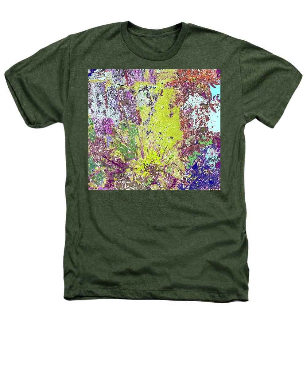 Abstract Heathers T-Shirt featuring the photograph Brimstone Fantasy by Ian MacDonald