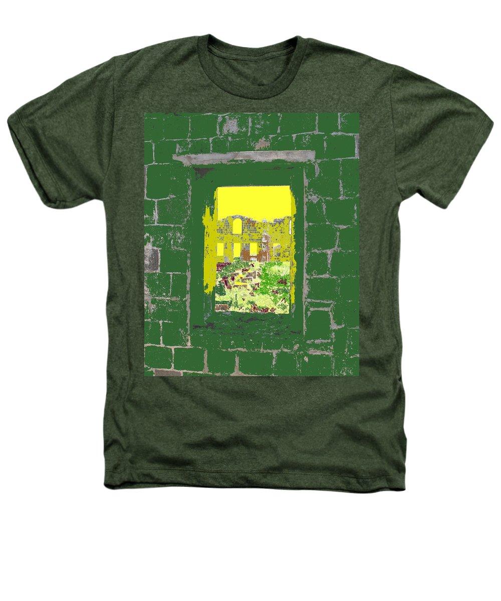 Brimstone Heathers T-Shirt featuring the photograph Brimstone Window by Ian MacDonald