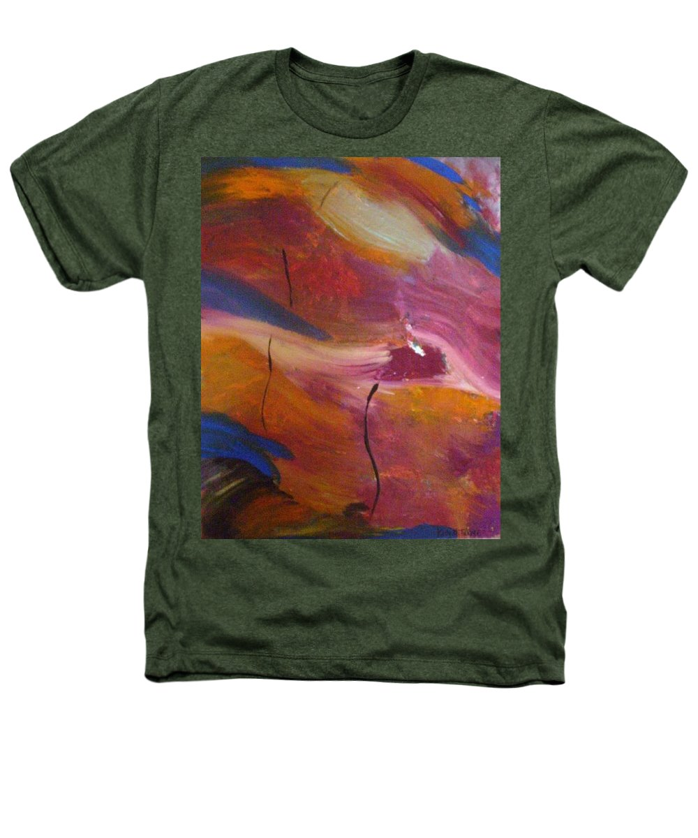 Abstract Art Heathers T-Shirt featuring the painting Broken Heart by Kelly Turner