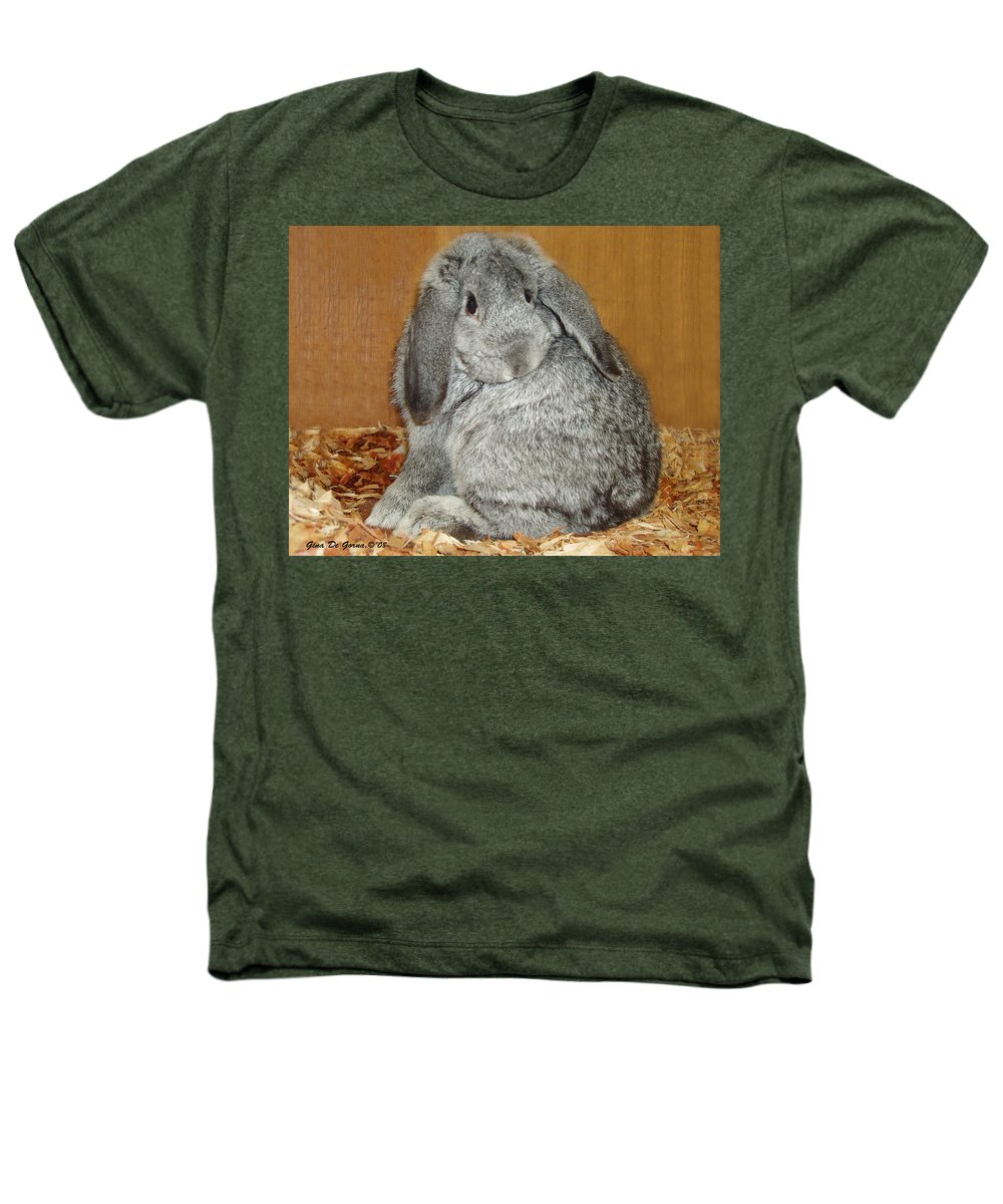 Bunny Heathers T-Shirt featuring the photograph Bunny by Gina De Gorna