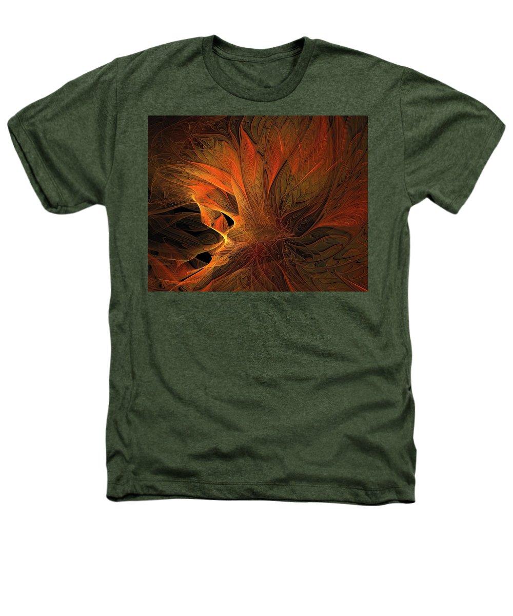Digital Art Heathers T-Shirt featuring the digital art Burn by Amanda Moore