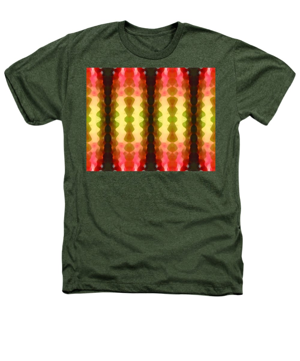Abstract Painting Heathers T-Shirt featuring the digital art Cactus Vibrations 1 by Amy Vangsgard