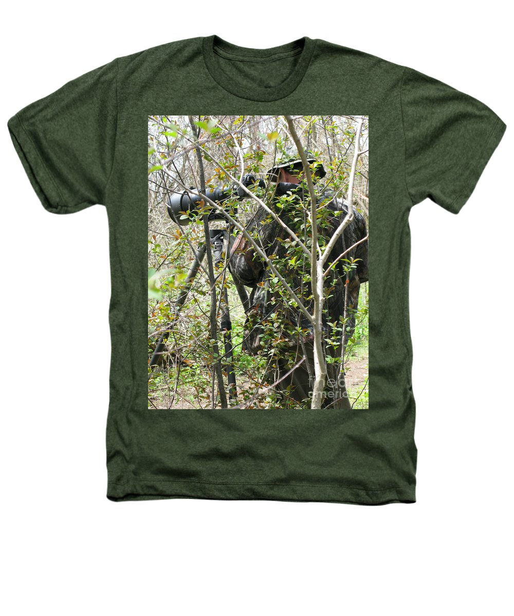 Photographer Heathers T-Shirt featuring the photograph Camouflage by Ann Horn