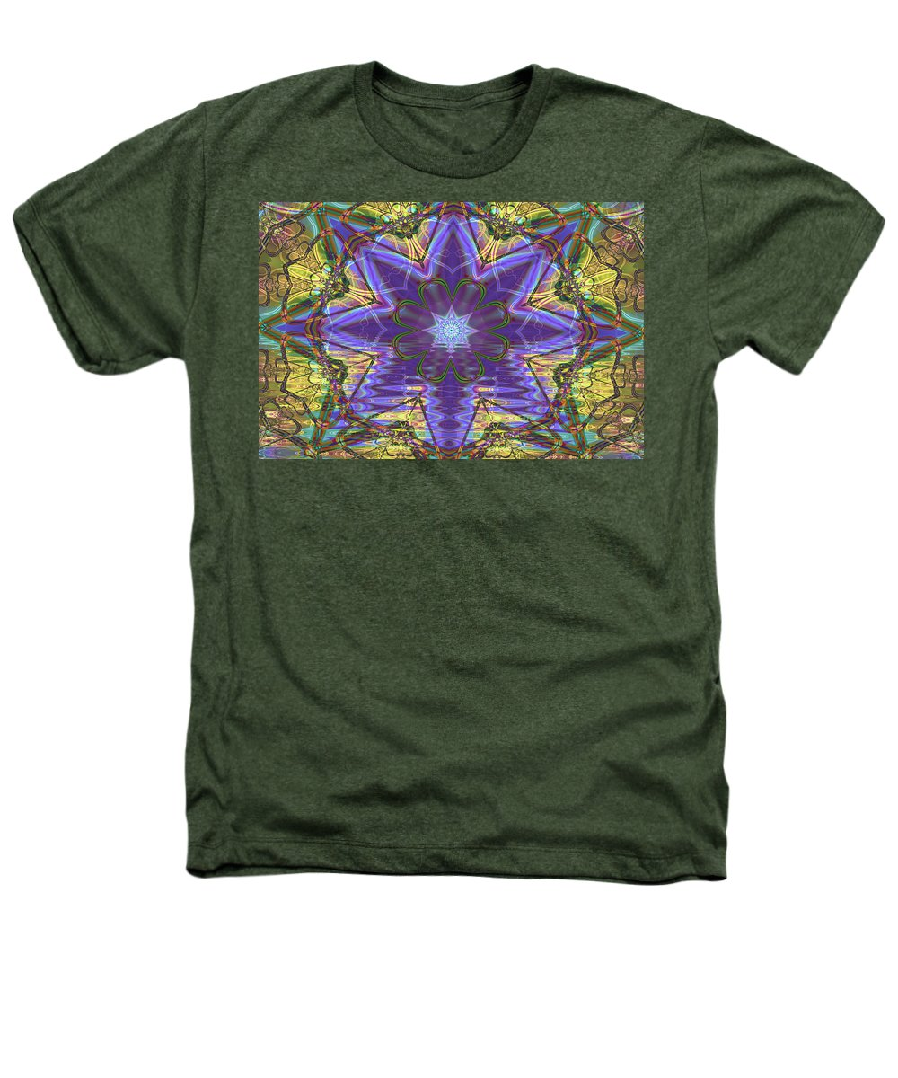 Abstract Heathers T-Shirt featuring the digital art Celtic Knot by Frederic Durville