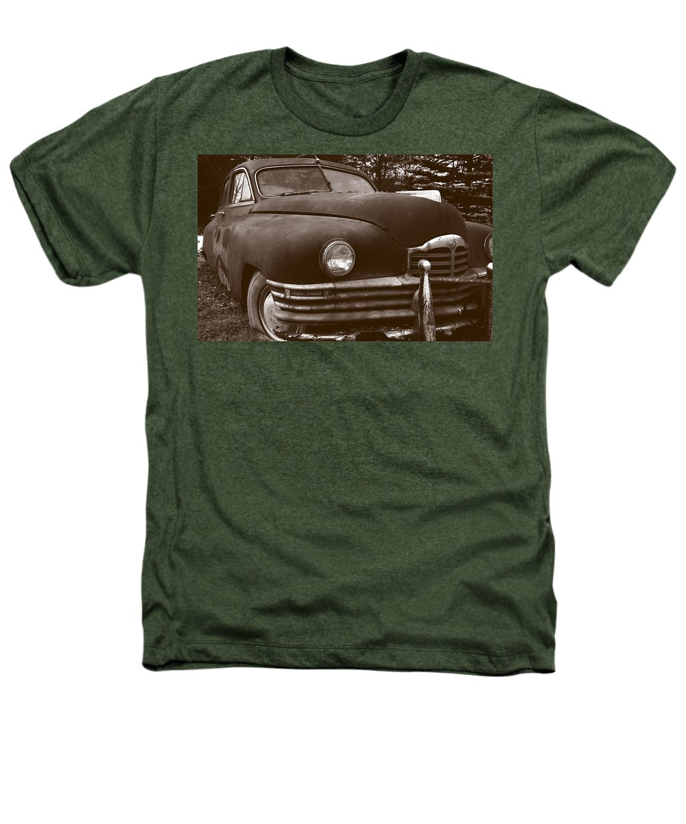 Old Car Heathers T-Shirt featuring the photograph Chocolate Moose by Jean Macaluso