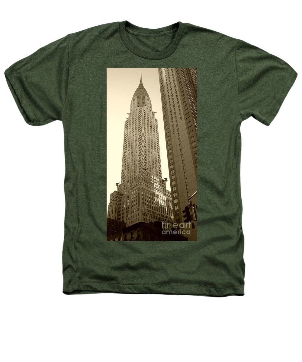 New York Heathers T-Shirt featuring the photograph Chrysler Building by Debbi Granruth
