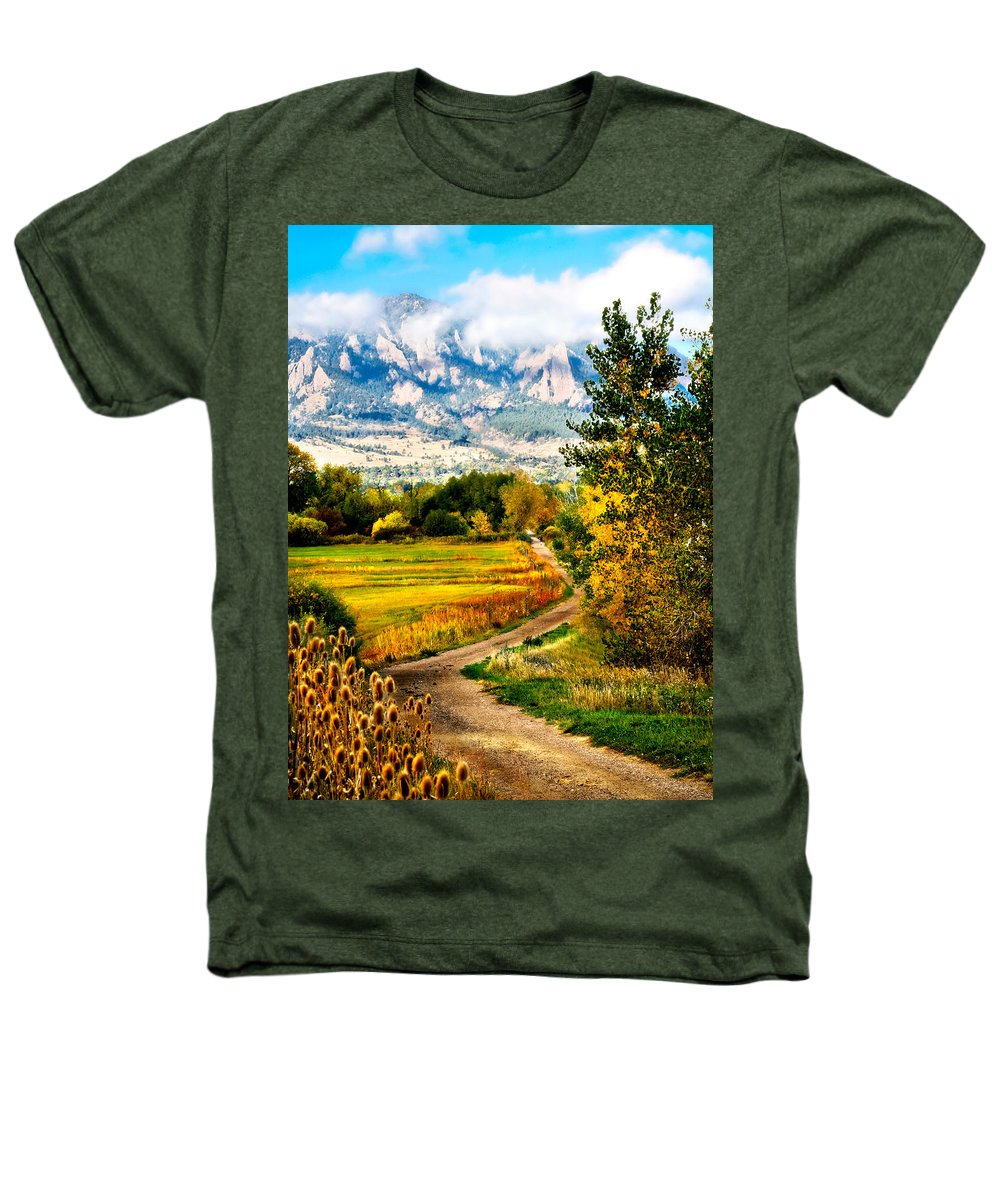 Americana Heathers T-Shirt featuring the photograph Clearly Colorado by Marilyn Hunt