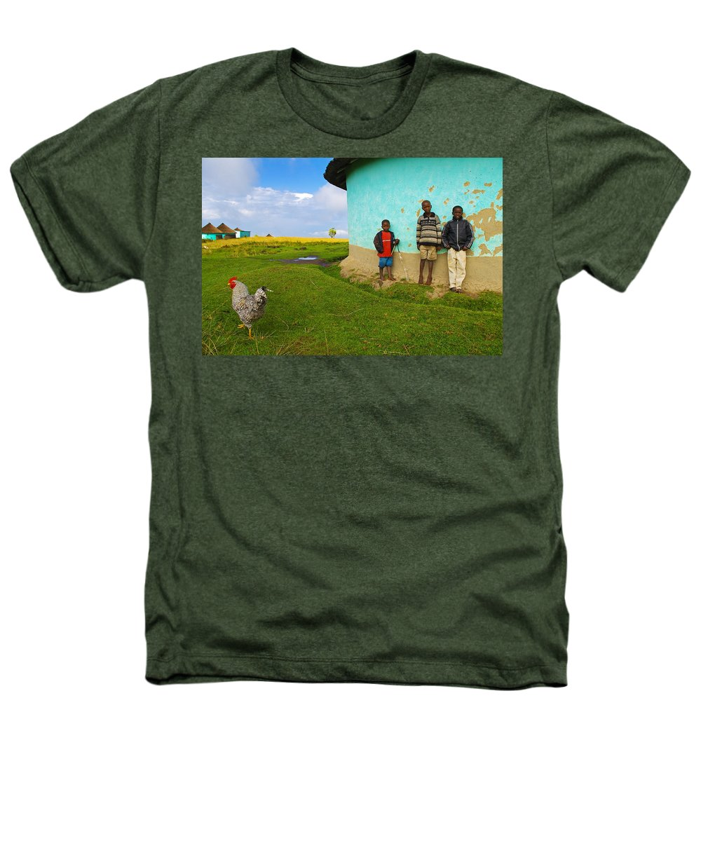 Skip Heathers T-Shirt featuring the photograph Cocky by Skip Hunt