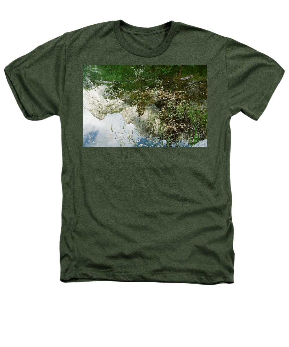Mirror Lake Heathers T-Shirt featuring the photograph Confusion by Kathy McClure