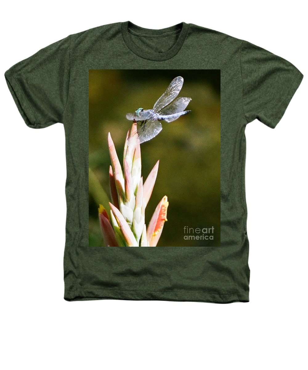 Dragonfly Heathers T-Shirt featuring the photograph Damselfly by Dean Triolo