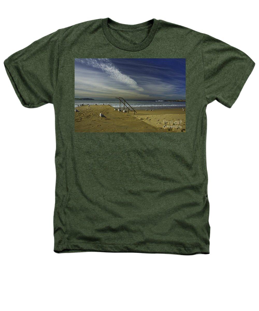 Beach Heathers T-Shirt featuring the photograph Dee Why Beach Sydney by Avalon Fine Art Photography