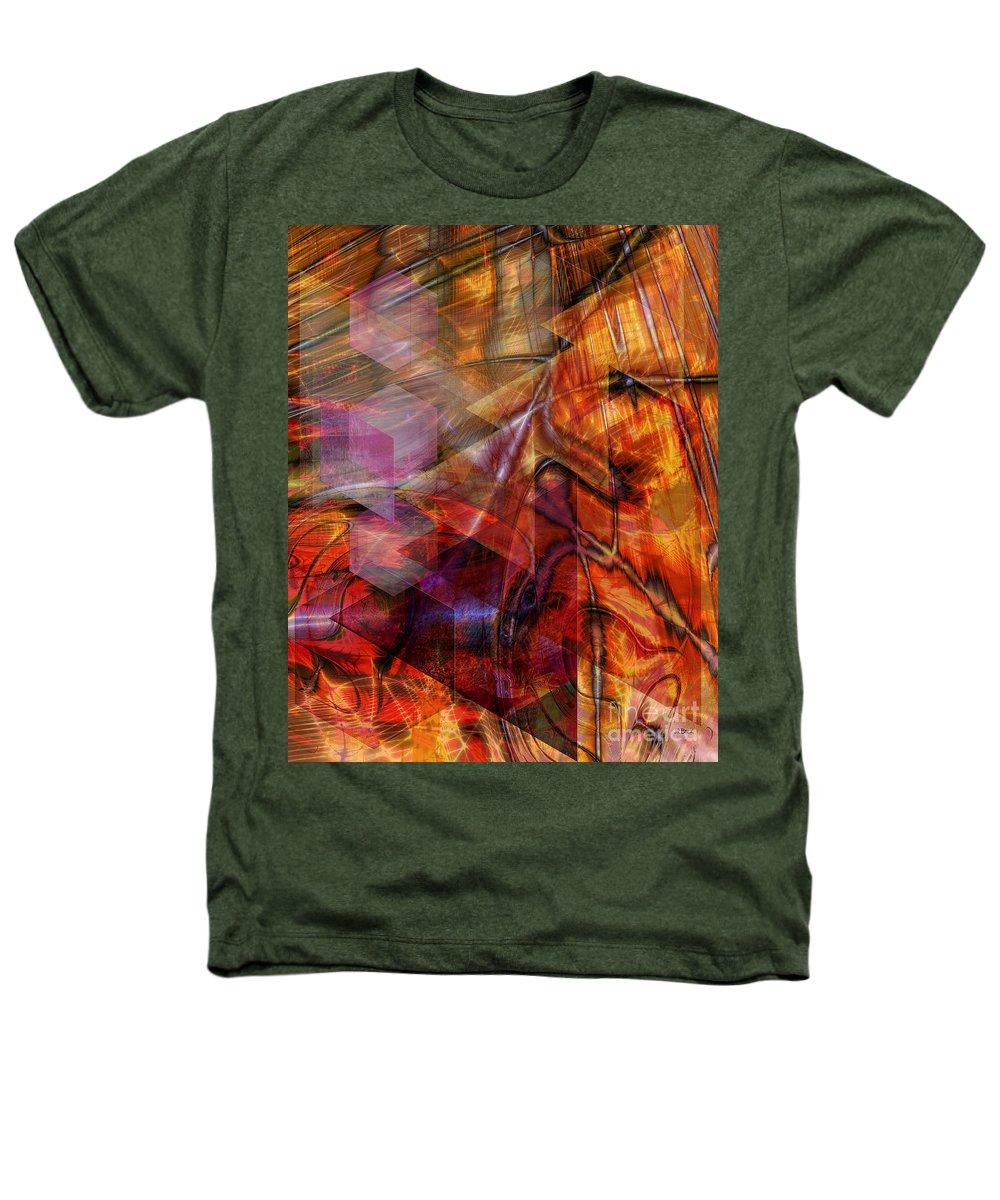 Deguello Sunrise Heathers T-Shirt featuring the digital art Deguello Sunrise by John Beck