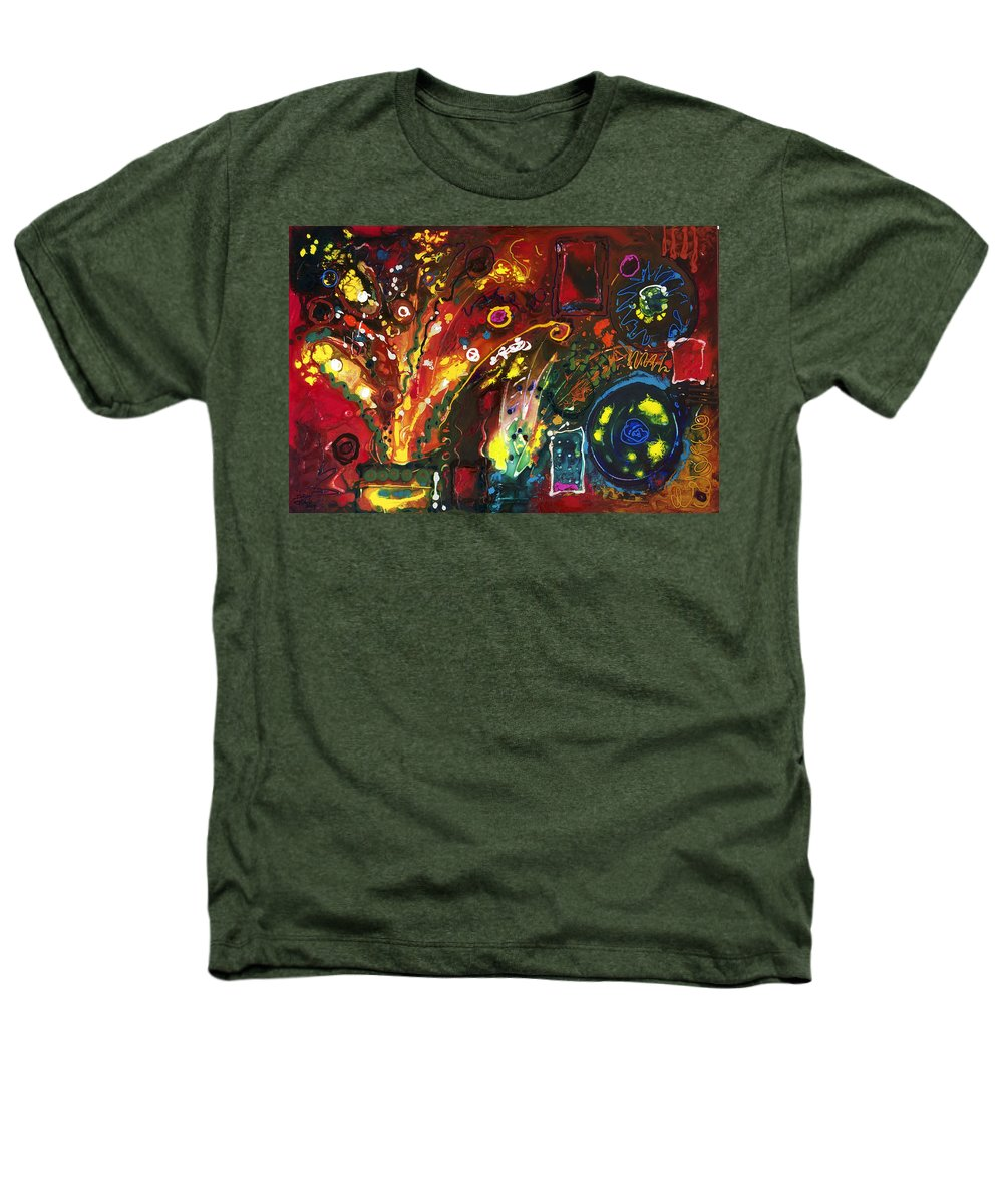 Floral Heathers T-Shirt featuring the painting Early Bouquet by Sally Trace