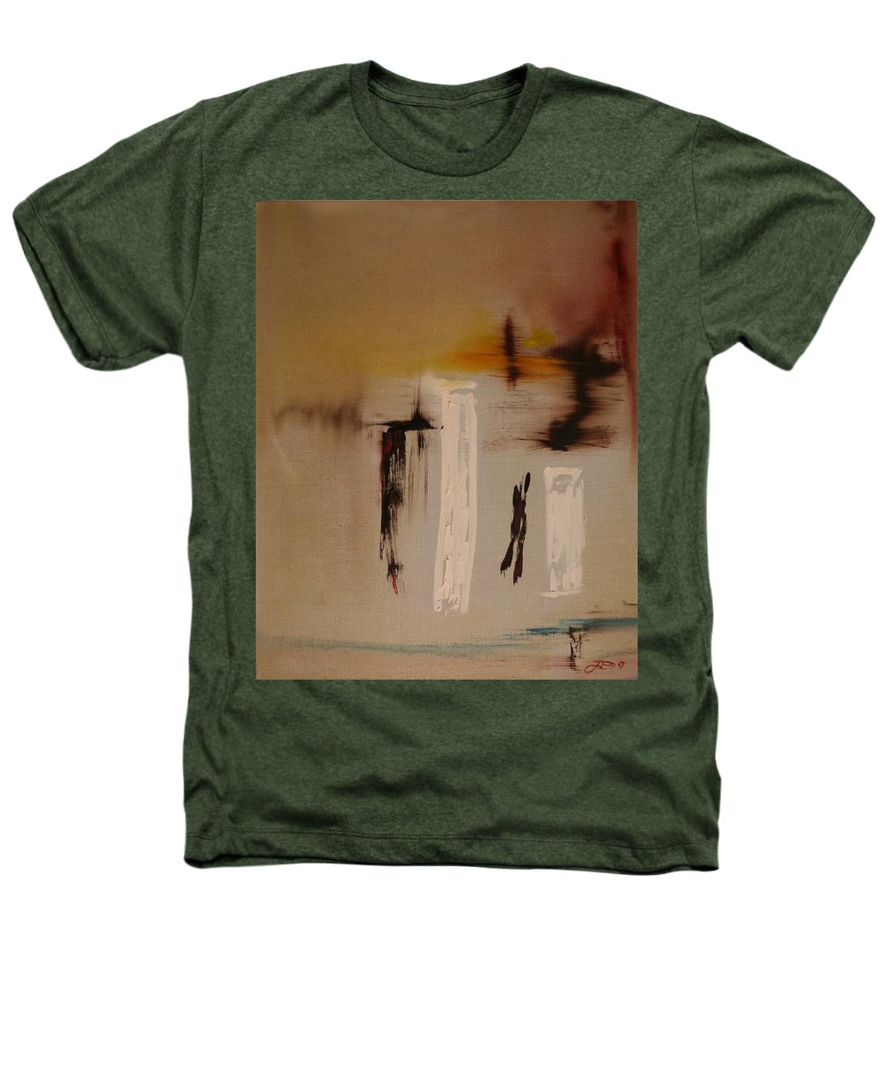 Abstract Heathers T-Shirt featuring the painting Easy by Jack Diamond