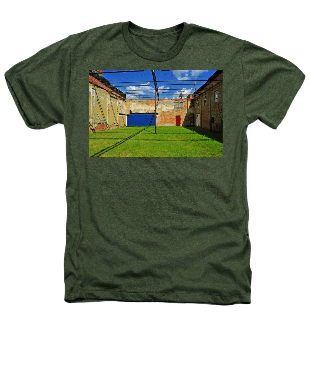 Skiphunt Heathers T-Shirt featuring the photograph Eco-store by Skip Hunt