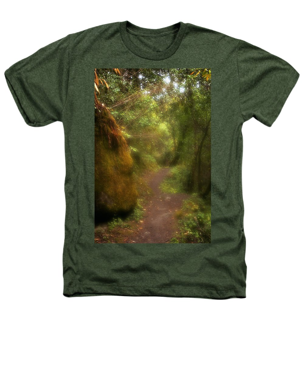 Path Heathers T-Shirt featuring the photograph El Camino by Patrick Klauss