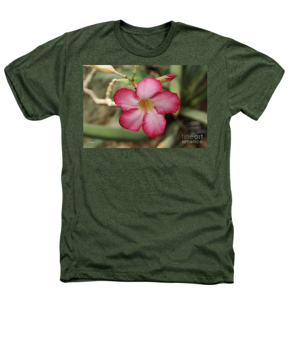 Floral Heathers T-Shirt featuring the photograph Elegant by Shelley Jones