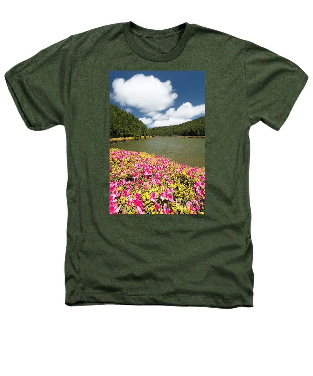 Portugal Heathers T-Shirt featuring the photograph Empadadas Lakes II by Gaspar Avila