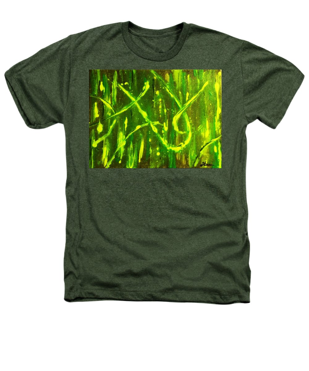 Abstract Heathers T-Shirt featuring the painting Envy by Todd Hoover