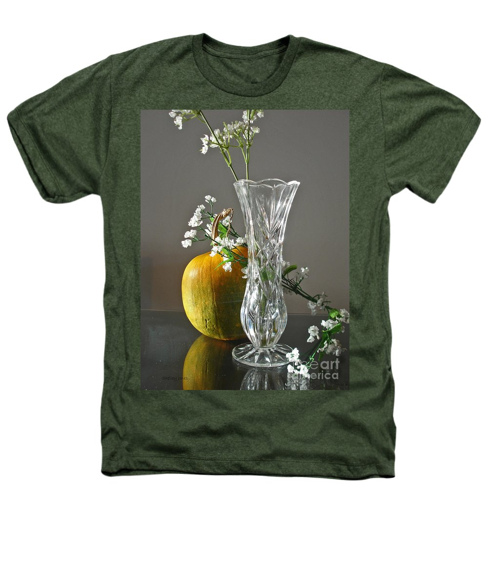 Still Life Heathers T-Shirt featuring the photograph Everlasting Harvest by Shelley Jones
