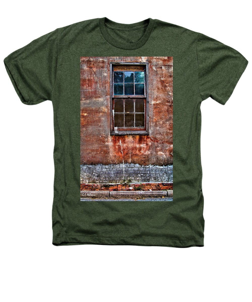 Window Heathers T-Shirt featuring the photograph Faded Over Time by Christopher Holmes