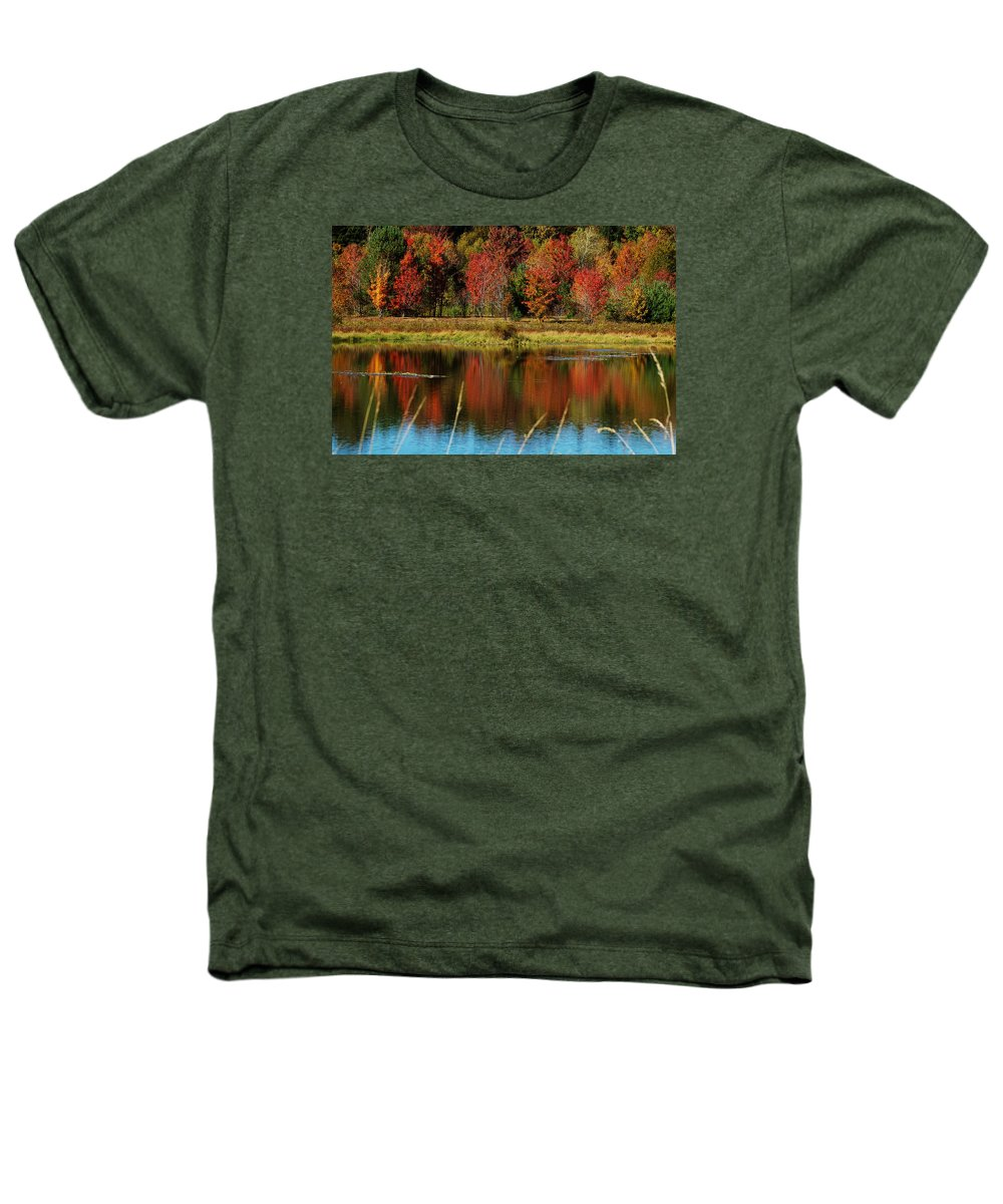 Autumn Heathers T-Shirt featuring the photograph Fall Splendor by Linda Murphy