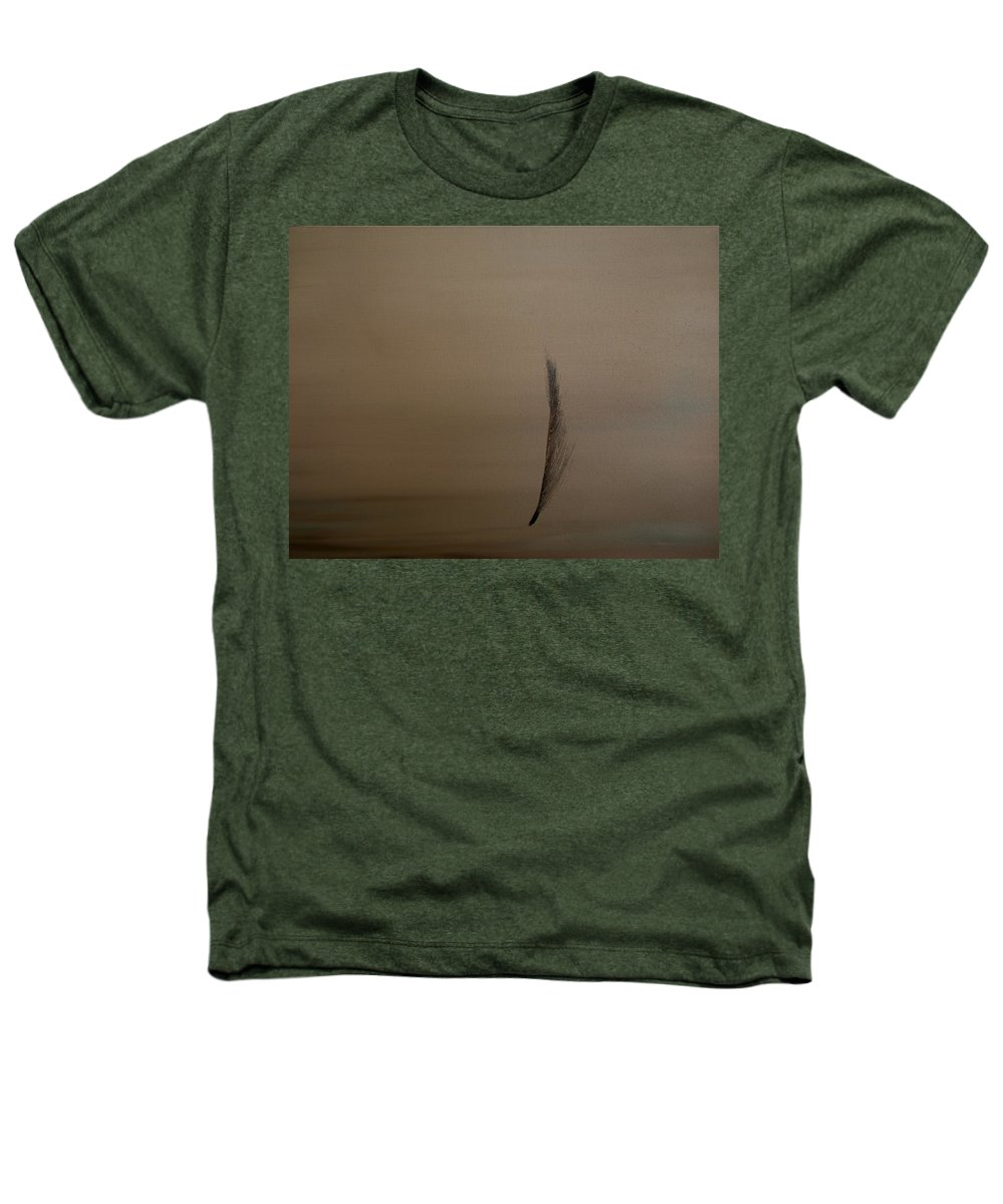 Feather Heathers T-Shirt featuring the painting Feather by Jack Diamond