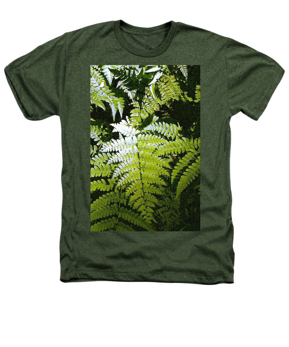 Ferns Heathers T-Shirt featuring the photograph Ferns by Nelson Strong