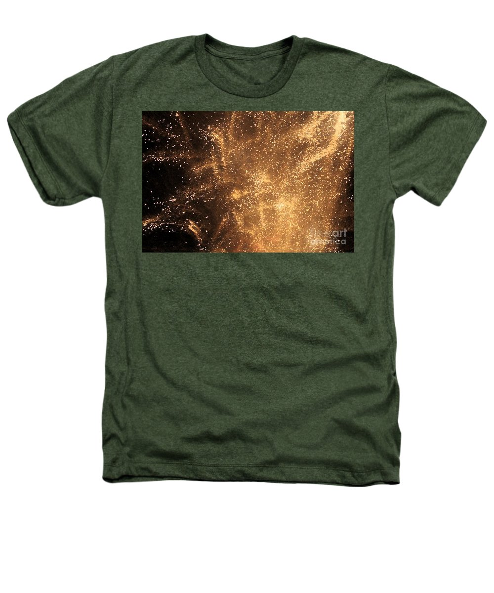 Fireworks Heathers T-Shirt featuring the photograph Fired Up by Debbi Granruth