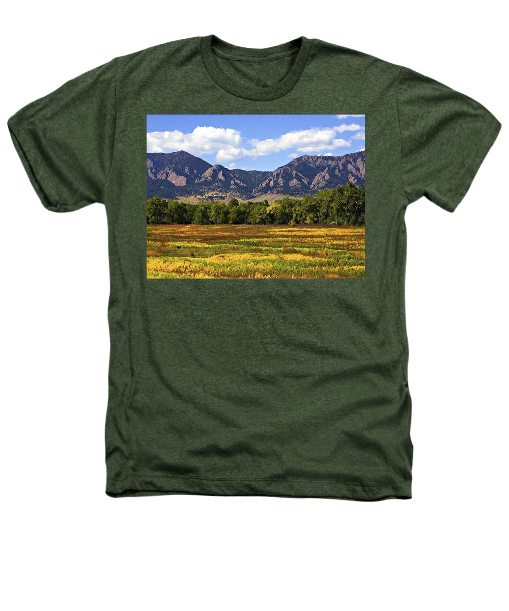 Fall Heathers T-Shirt featuring the photograph Foothills Of Colorado by Marilyn Hunt