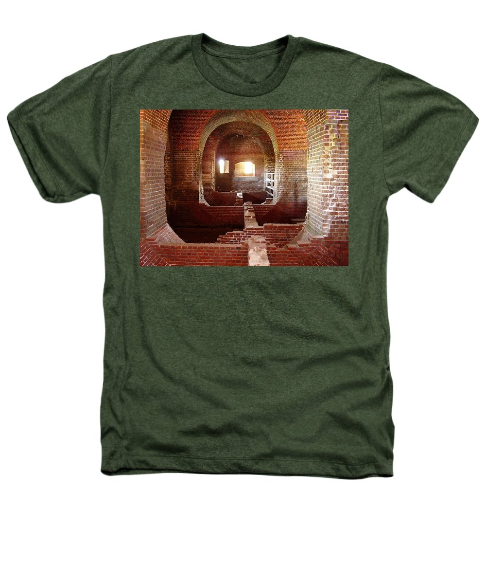Fort Pulaski Heathers T-Shirt featuring the photograph Fort Pulaski I by Flavia Westerwelle