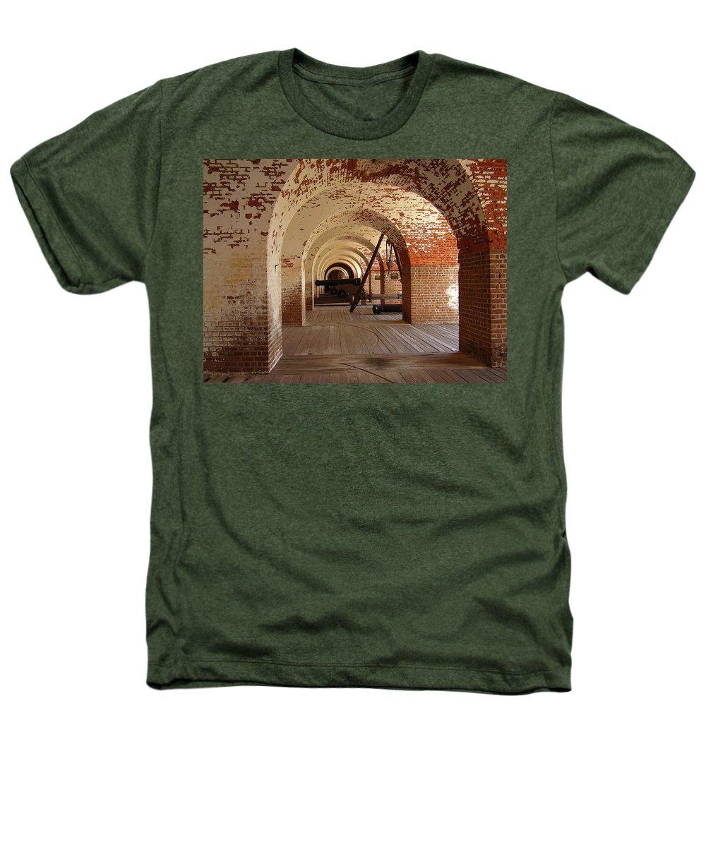 Fort Pulaski Heathers T-Shirt featuring the photograph Fort Pulaski II by Flavia Westerwelle