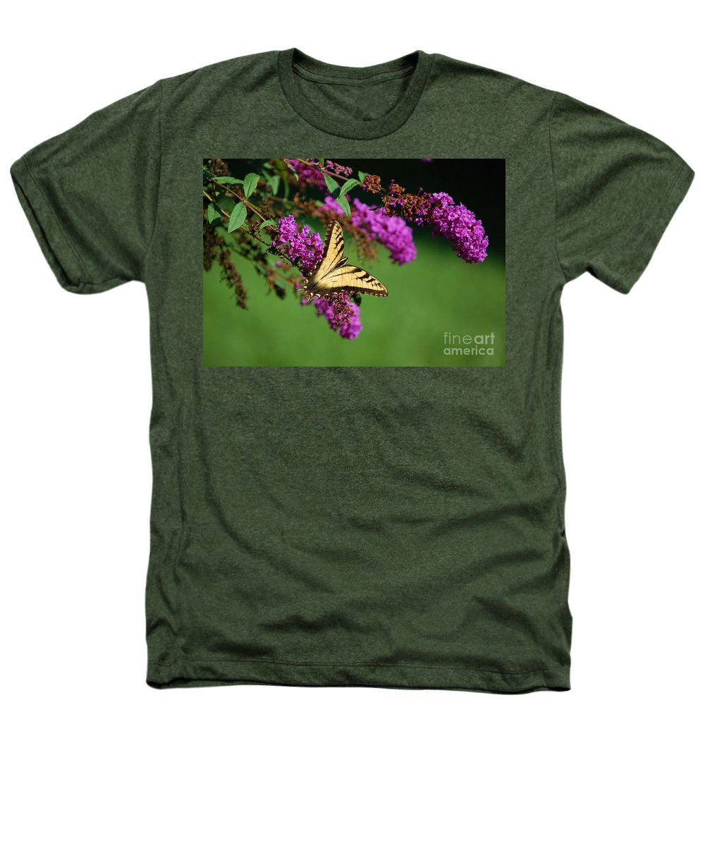 Butterfly Heathers T-Shirt featuring the photograph Freedom by Debbi Granruth
