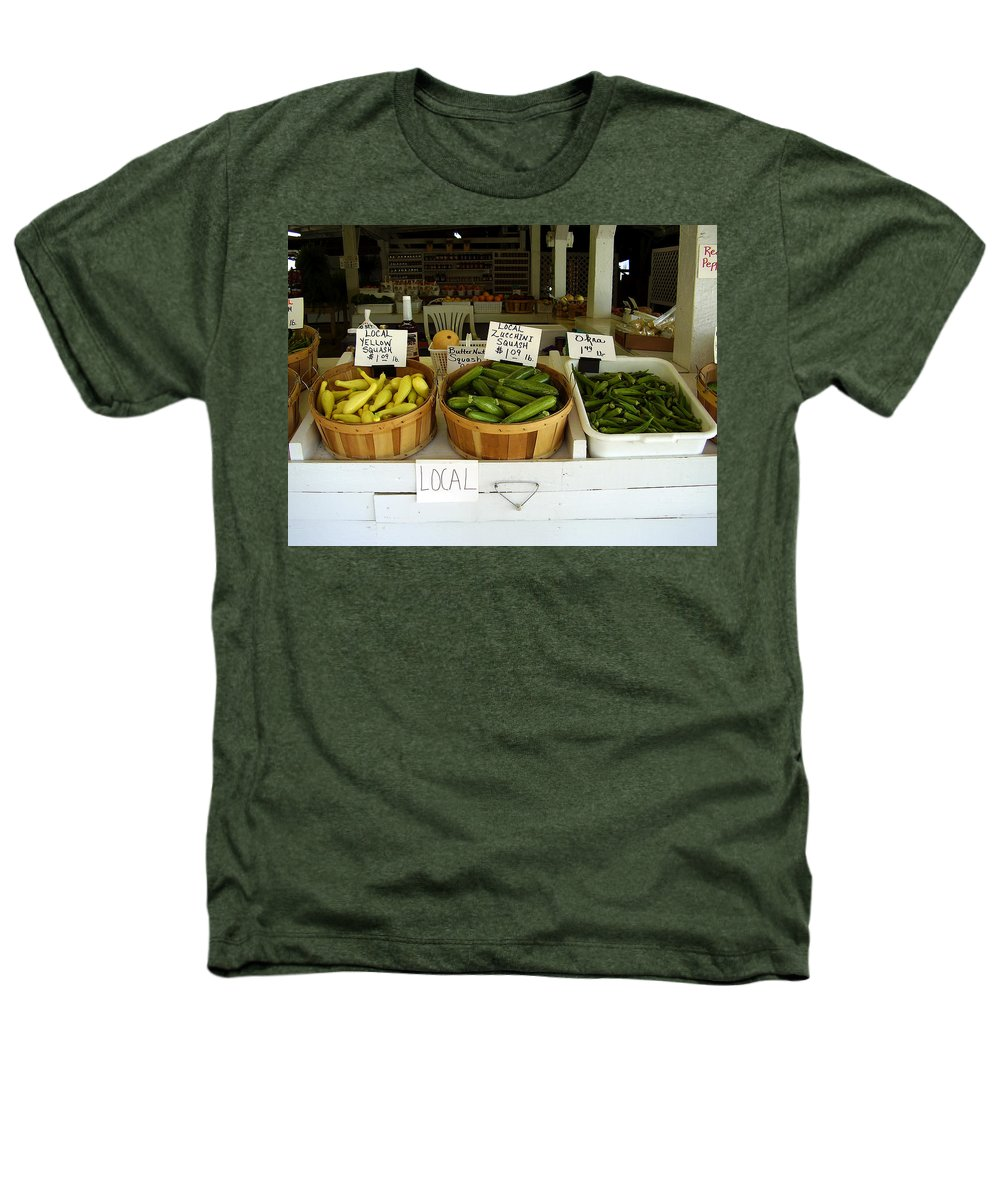 Fresh Produce Heathers T-Shirt featuring the photograph Fresh Produce by Flavia Westerwelle